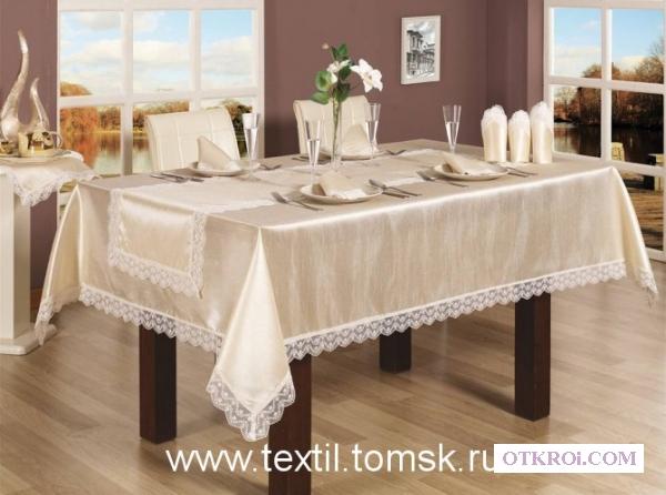 Праздничная скатерть на стол.  Коллекция Hurrem от Walls
