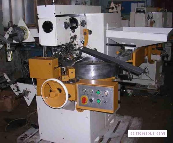 Заверточная машина EU-4 нагема nagema для завёртки конфет в двойной перекрут