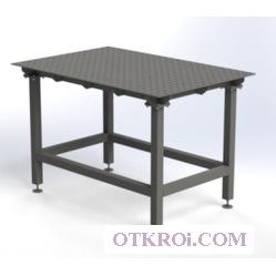 Сварочный слесарно-сборочный стол Evidence SS8-800x1200 2D ass (Эвиденс)  (полный комплект с собранной столешницей)
