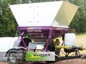 Мельница плющилка Murska 2000 S2x2 CB с упаковщиком