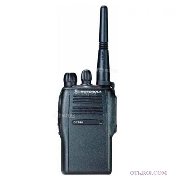 Радиостанцию Motorola GP-344, 644, 340, 640.