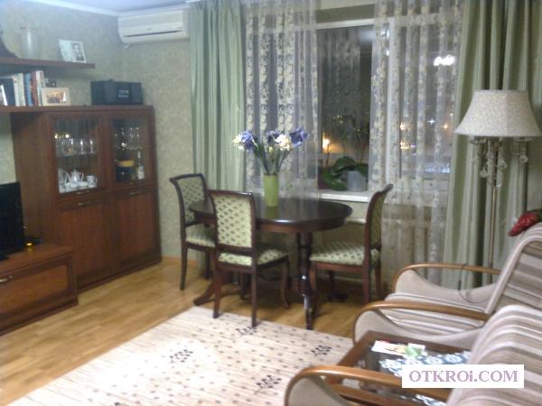 3х к квартиру с новой мебелью и с капремонтом.