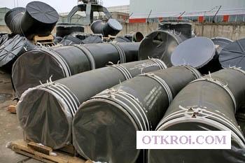 Отвод ОГ 45 1420(19, 6 х70) -7, 5-0, 75-5DN-3550/3550-У-0*С