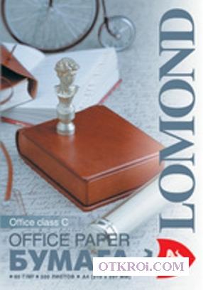Офисная белая бумага Office,  A4,  класс C,  80 г/м2,  500 листов