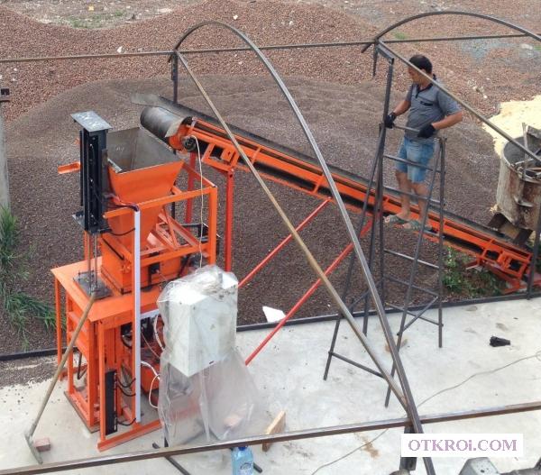 Оборудование для производства теплоблоков под мрамор и т.    д.