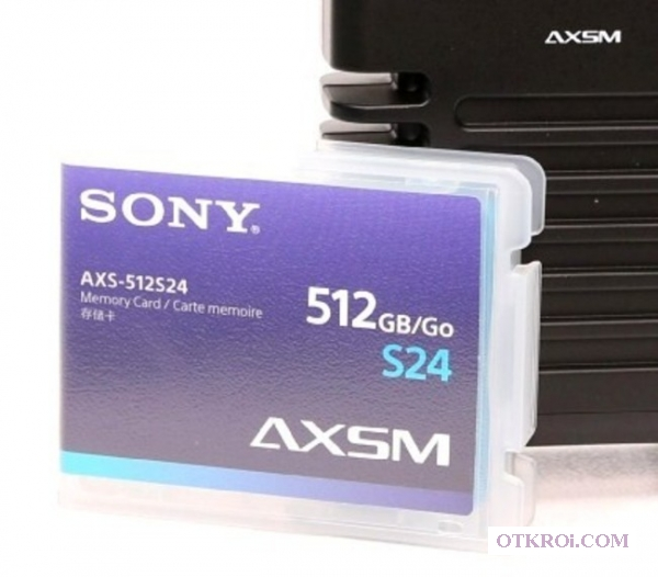 Карты памяти SxS, AXSM, SRMemory.