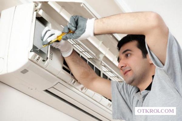 Монтаж (установка)   ,   ремонт,    заправка кондиционеров в Брянске