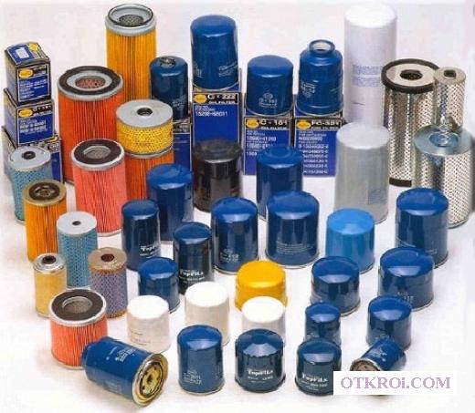 Фильтры масляные, топливные, гидравлические
