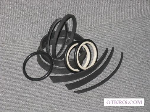 Ремкомплект гидроцилиндра грейфера для лома КМУ Синегорец-75