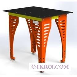 Сварочный слесарно-сборочный стол Evidence SS8-700x900 (Эвиденс)   стол для сварки