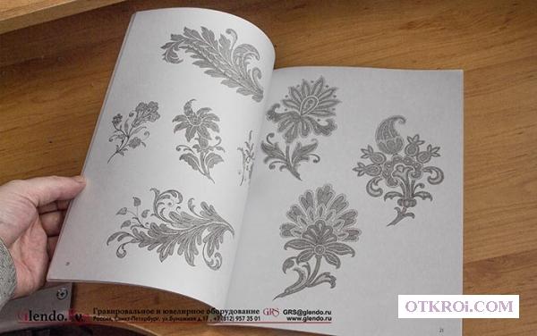 Книга Decorative Flower and Leaf Designs Ричарда Хофманна