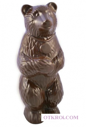 Новогодний шоколад с логотипом