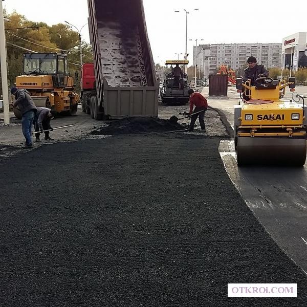 Асфальтирование дорог в Новосибирске-Асфальтирование в Новосибирске