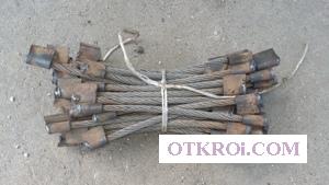 Соединитель рельсовый стыковой приварной РЭСФ,   пружинный СРСП и рельсовый приварной СРС 6-01  на складе
