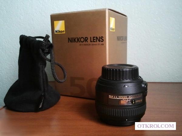 Объектив Nikon 50mm f/1. 4G AF-S