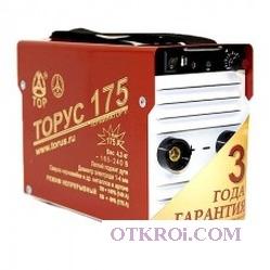 Сварочный инвертор ТОРУС-175 ТЕРМИНАТОР-2 + провода