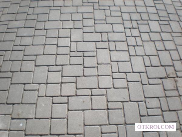 Асфальтирование в новосибирске-Тротуарная плитка