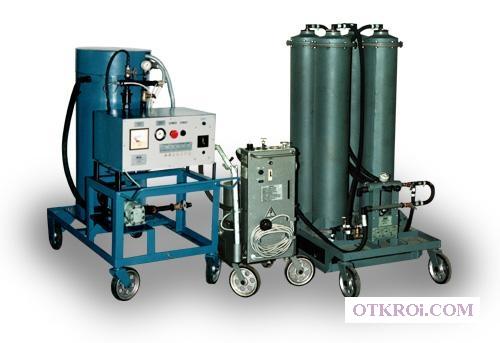 УВМ-01, УВМ-03 Установки комплексного восстановления трансформаторных масел