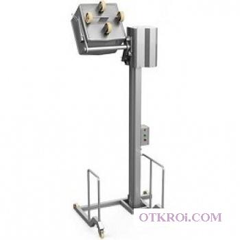 Столбовой мачтовый подъёмник-опрокидыватель,  передвижной,  купить в Москве