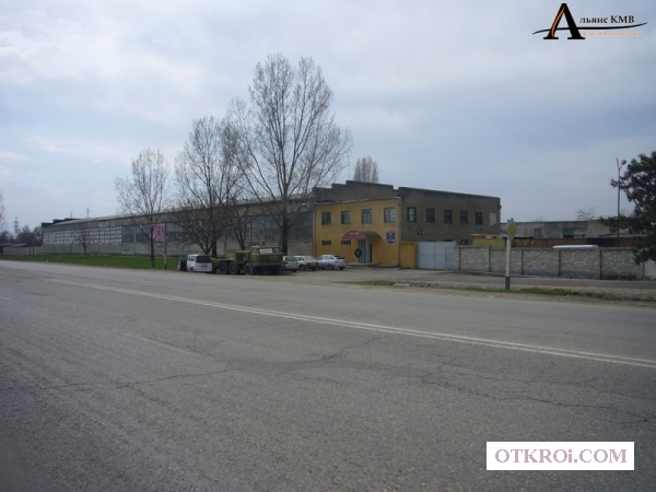 Ткацкая фабрика, действующее производство.
