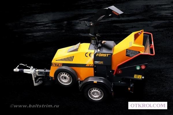Прицепные рубильные машины Forst (Англия)