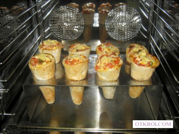 Оборудование для пиццы в конусе (Cono Pizza)