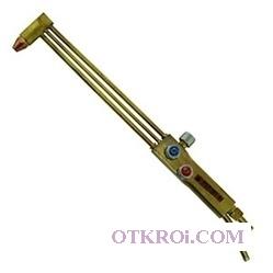 РСТ-2К резак ацетилен/пропановый комбинированный трёхтрубный повышенной мощности