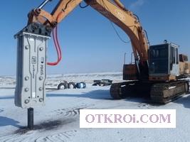 Гидромолот, навесное и рабочее оборудование для спецтехники