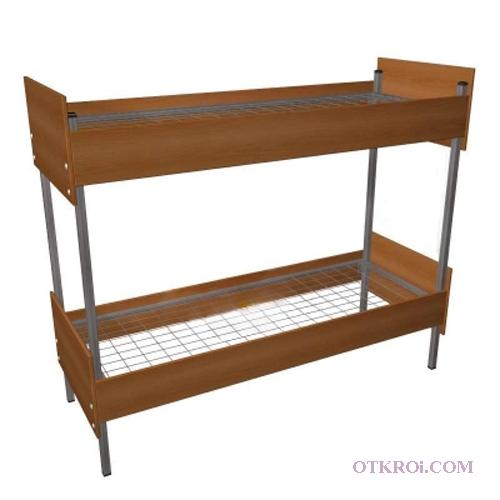 Металлические кровати одноярусные, двухъярусные, трёхъярусные. Опт, низкие цены.