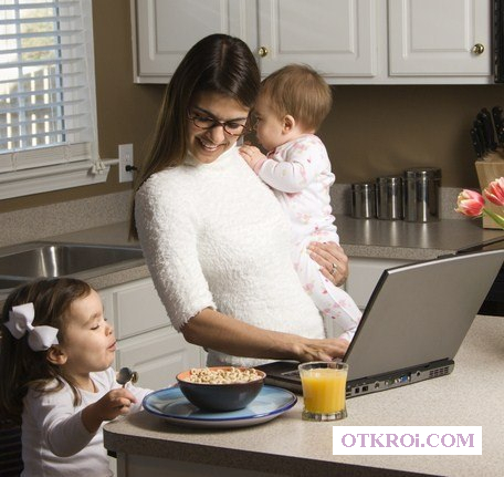 Работа на дому для активных домохозяек.