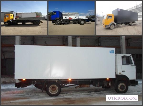 Переоборудование грузового автомобиля КАМАЗ (65115, 65117, 43118) , КАМАЗ 4308, МАЗ, Маз Зубренок.