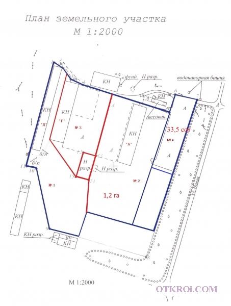 Продажа асфальтированной площадки 33 сот на трассе М 4 «ДОН»
