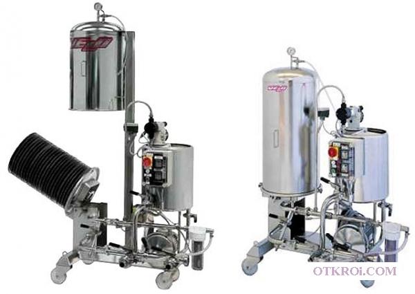 Кизельгуровый фильтр для фильтрации пива,  кваса,  вина и др.