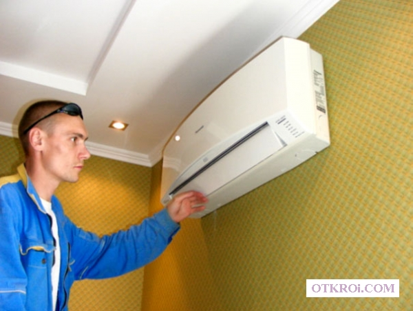 Монтаж (установка)   ,   ремонт,    заправка кондиционеров в Волгограде
