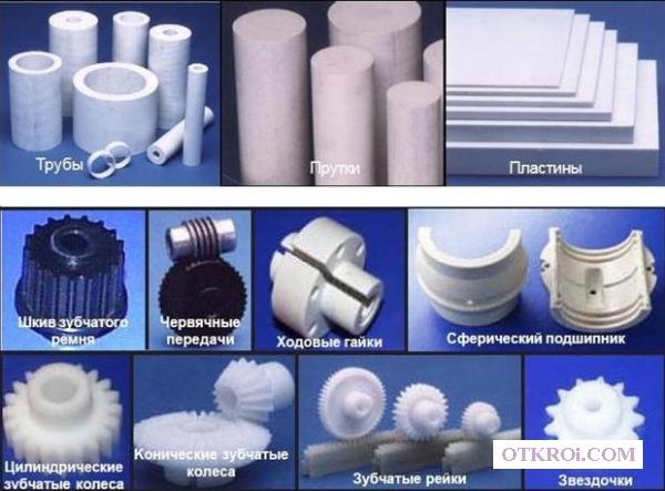 Производство деталей к узлам из полимера Zedex