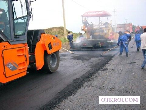Асфальтирование дорог в Новосибирске