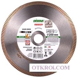 1A1R 125x1, 4x8х22, 23 Gres Ultra, круг алмазный отрезной (мокрый рез) (С)