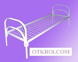 Бюджетные кровати металлические для размещения постояльцев в гостиницах,  отелях