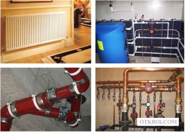 Профессиональная установка сантехники и отопления.
