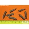 Стойка установочная крепежная круглая с лысками с резьбовыми концом и отверстием ГОСТ 20863-81