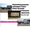 Бортовые платформы Man Hyundai Isuzu  еврокузова купить