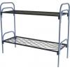 Кровати металлические дешево,  кровати одноярусные и двухъярусные,  кровати со спинками ДСП