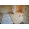 Отделка деревянного дома,  бани вагонкой.