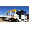 Бортовой грузовик FAW 6x4 с КМУ 12 тонн