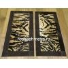 Прикроватные коврики из шкуры коровы окрашенной под тигра арт.  :   18011
