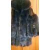 Элегантный набор для девушки:   меховая жилетка и сумка из меха