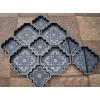 Формы для изготовления тротуарной плитки клевер краковский