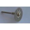 Диск отрезной алмазный для бормашинки 22 мм.