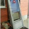Входные металлопластиковые двери для павильонов б/у