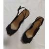 Туфли замшевые черные New look39 р.